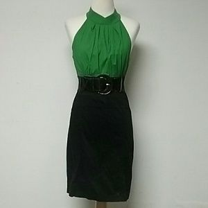 [Maurices] Sexy Black and Green Dress